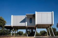 太空屋,很像我们的豪华版集装箱住宅!