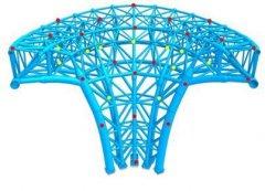 北京新机场钢结构进行残余应力检测和调
