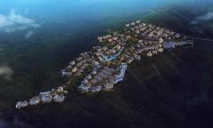 伏羲山耗资5.2亿的全球奢华养生度假别墅