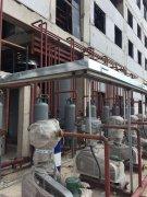 宁夏佰斯特第三期医药化工厂房安装钢骨