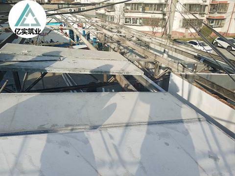 钢边框保温隔热板
